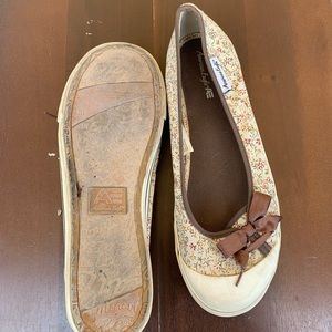 American Eagle Outfitters Shoes - EUC American Eagle Brown and Tan Flats